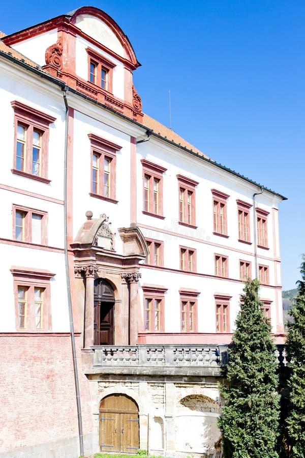 Zakupy城堡,捷克 免版税库存图片