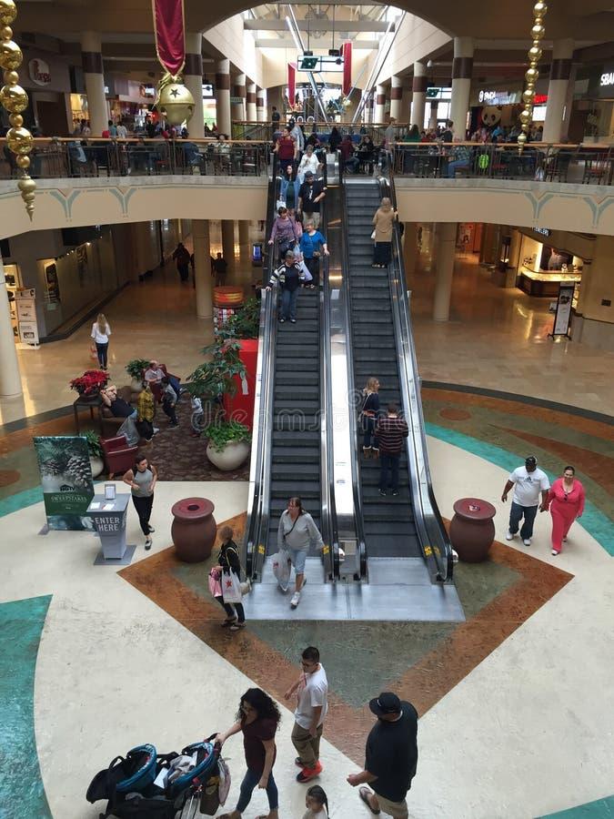 Zakupy centrum handlowe W Arizona zdjęcia royalty free