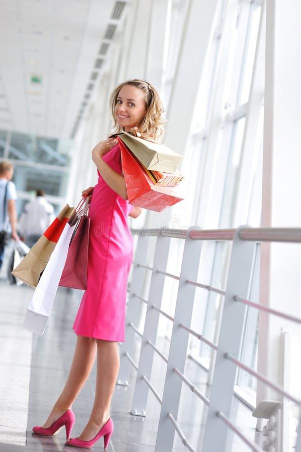 zakupy kobieta obrazy royalty free
