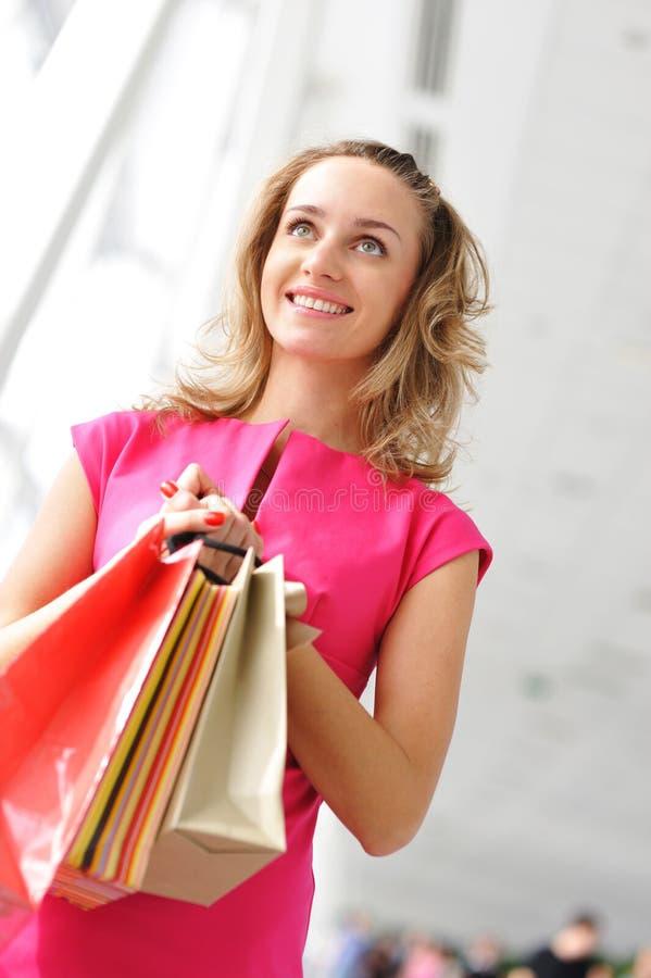 zakupy kobieta obrazy stock