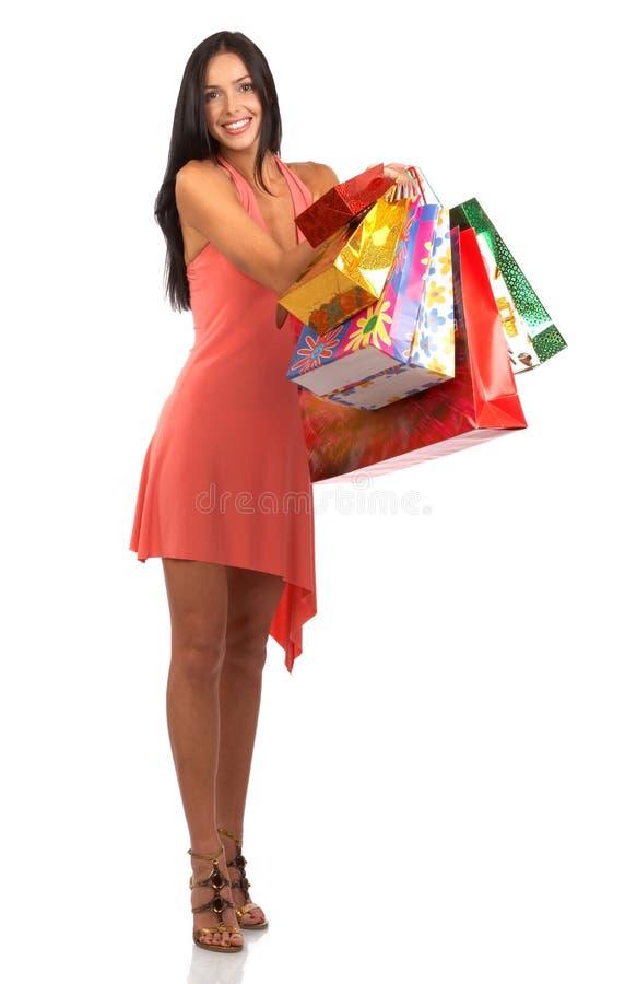 zakupy kobieta obraz stock