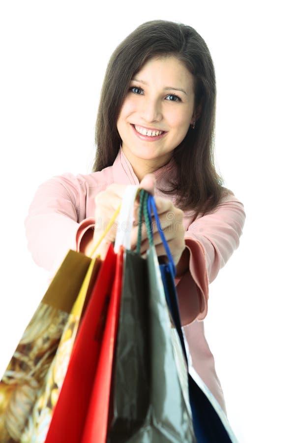 zakupy kobieta zdjęcia stock