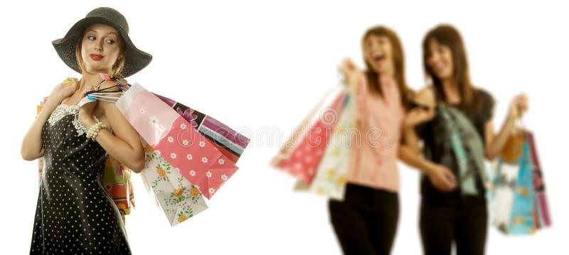 zakupy kobiety zdjęcia royalty free