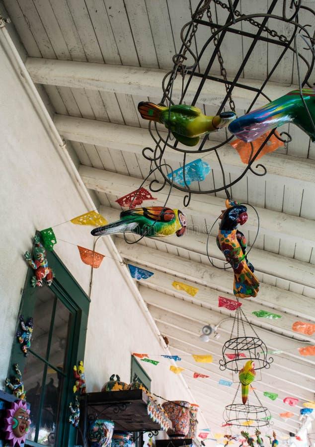 Zakupy miejsce wydarzenia przy Starego Grodzkiego stanu Dziejowym parkiem w San Diego, Kalifornia zdjęcia stock