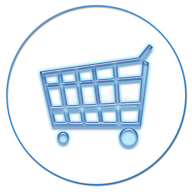 zakupy netto ilustracja wektor
