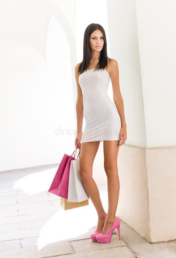 Zakupy piękno. zdjęcie stock