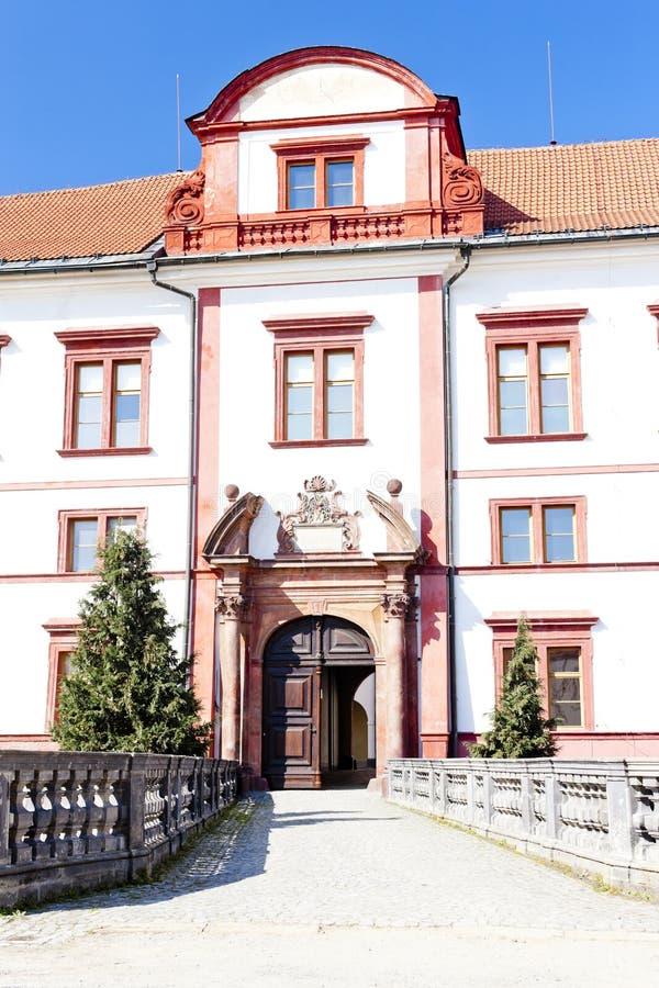 Zakupy slott, Tjeckien royaltyfria foton