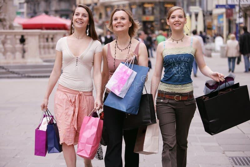 zakupy street fotografia stock