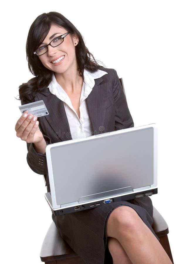 zakupy w internecie zdjęcie stock