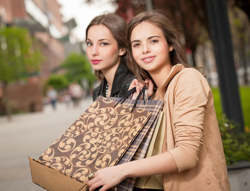 Zakupy zabawa fotografia stock