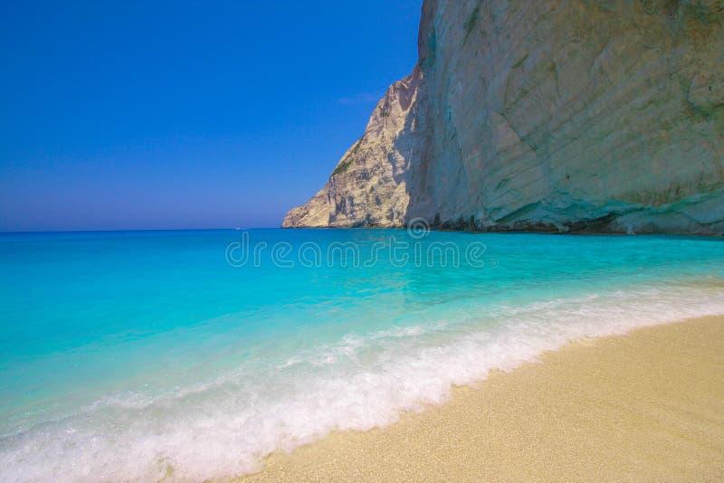 Zakynthos, Greece Marathonisi turtle Island Agios Sostis royalty free stock image