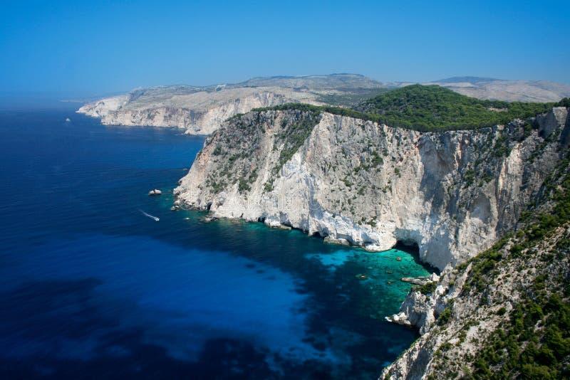 Zakynthos-Insel Griechenland lizenzfreie stockfotos