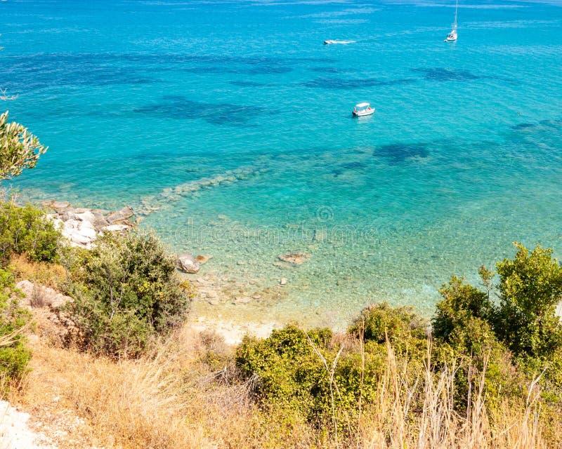 Zakynthos-Insel, Griechenland Eine Perle vom Mittelmeer mit den Str?nden und K?sten passend f?r unvergessliche Seefeiertage stockfoto