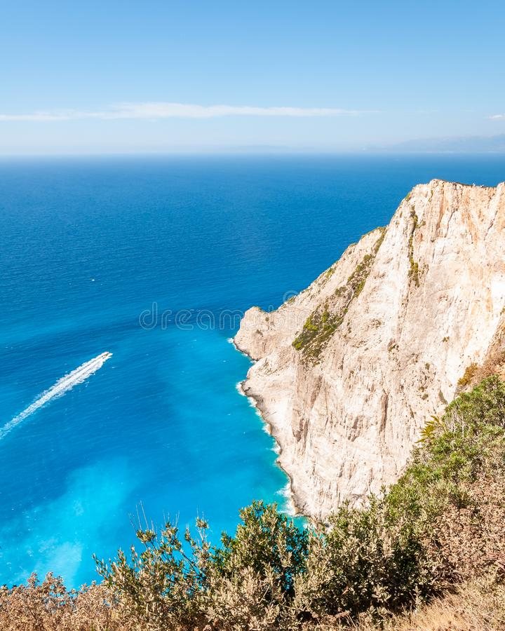 Zakynthos Island, Greece. A pearl of the Mediterranean with beaches and coasts suitable for unforgettable sea holidays stock photos