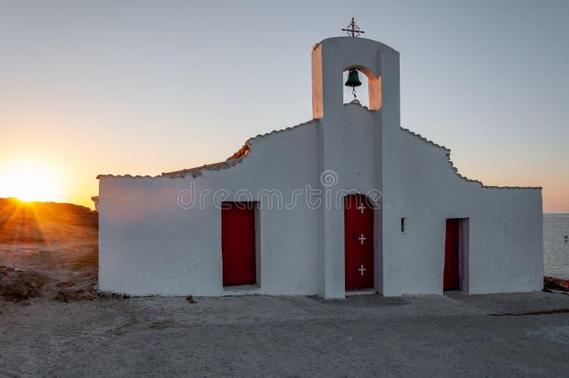 Zakynthos Island, Greece. A pearl of the Mediterranean with beaches and coasts suitable for unforgettable sea holidays. Agios Nikolaos Beach at sunrise royalty free stock photos
