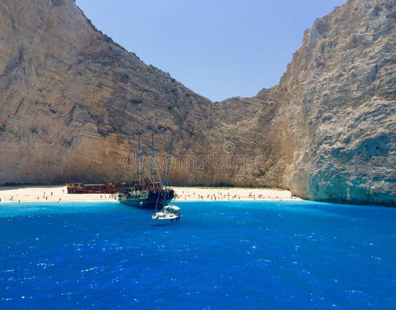 Zakyntos Griechenland stockfotografie