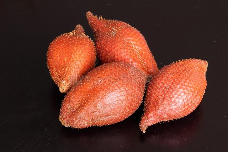 Zalacca或salak果子 免版税库存照片