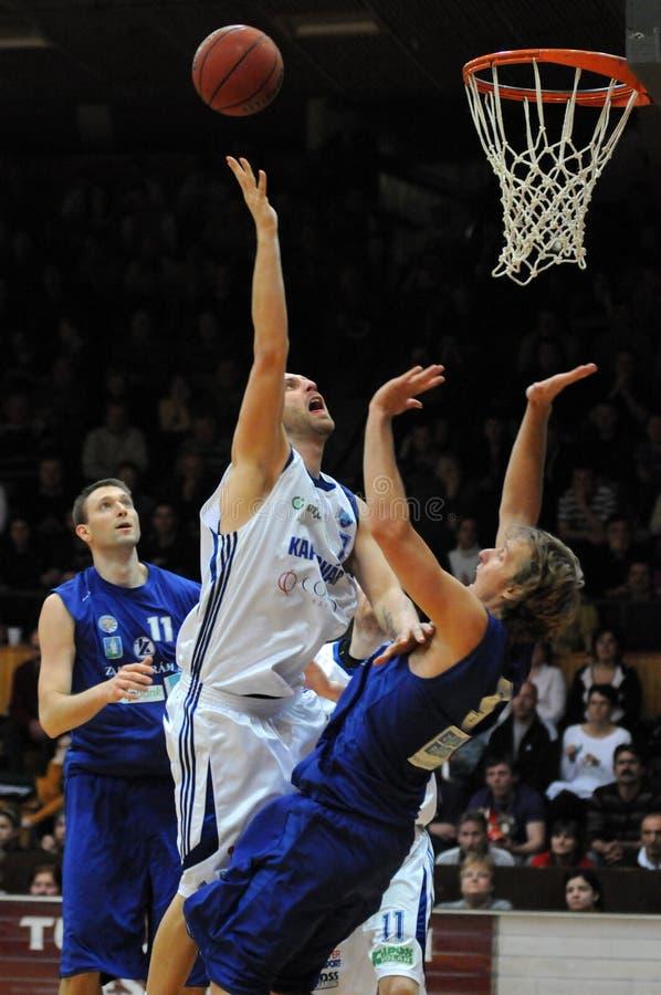 zalaegerszeg игры баскетбола kaposvar стоковая фотография rf