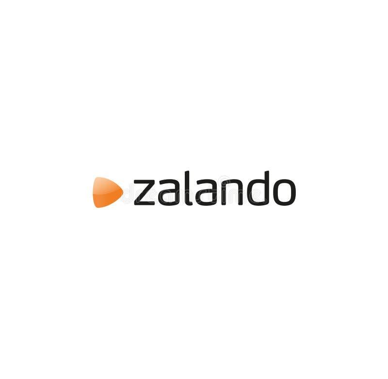 Zalando logo ilustracja wektor