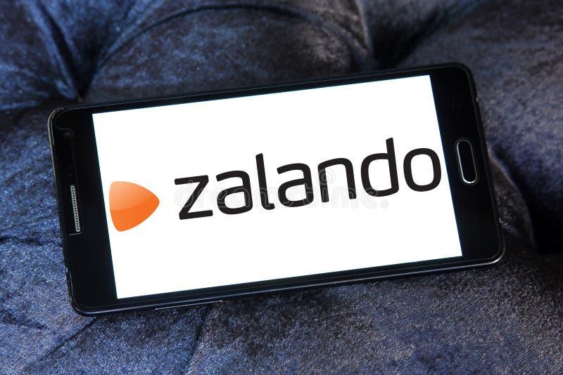 Zalando retailer logo. Logo of Zalando retailer on samsung mobile. Zalando SE is a German electronic commerce company seated in Berlin. The company maintains a stock photography