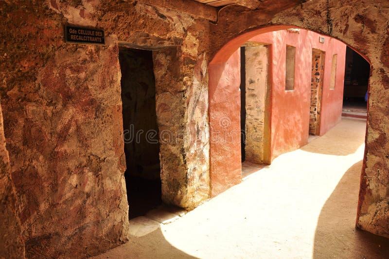 Zalen van slaven, huis van slaven, Senegal royalty-vrije stock afbeeldingen