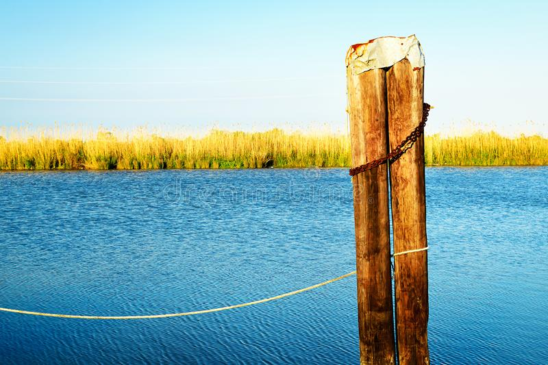 Zalewisko Lafourche, Luizjana zdjęcie royalty free