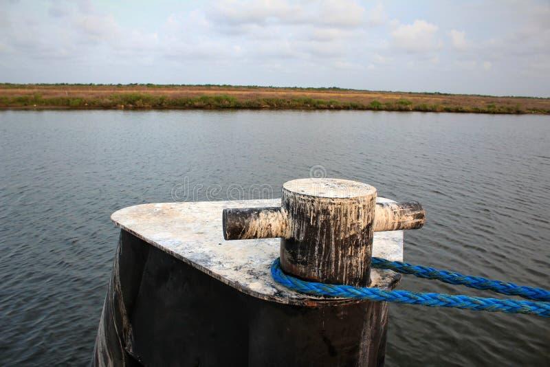 Zalewisko Lafourche, Luizjana zdjęcia royalty free