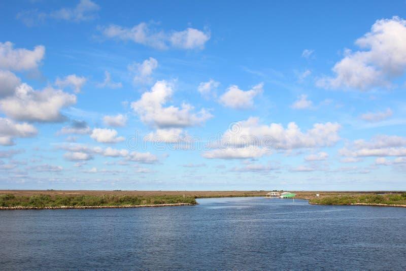 Zalewisko Lafourche, Luizjana obraz royalty free