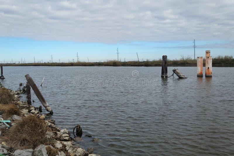 Zalewisko Lafourche, Luizjana obrazy stock