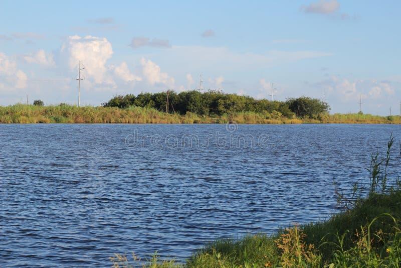 Zalewisko Lafourche, Luizjana fotografia stock