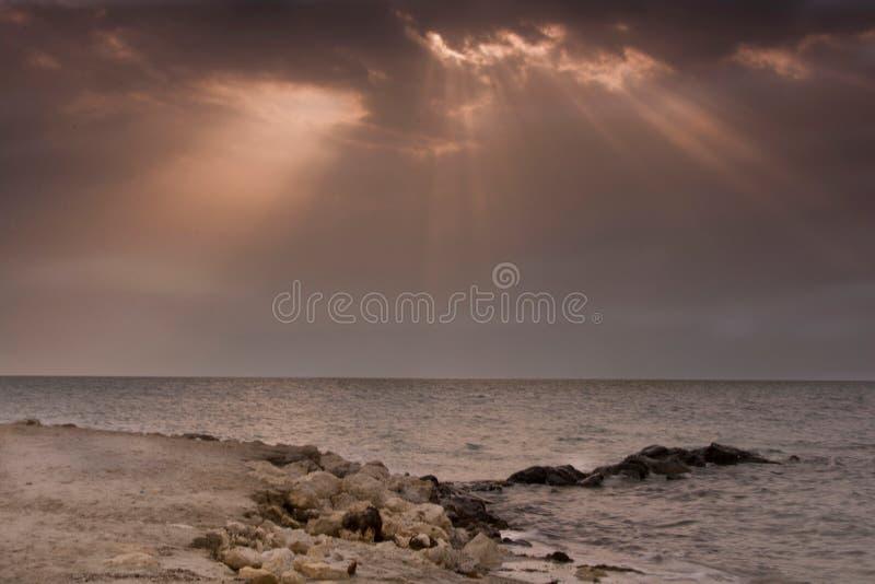 Zallaq beach royalty free stock photography