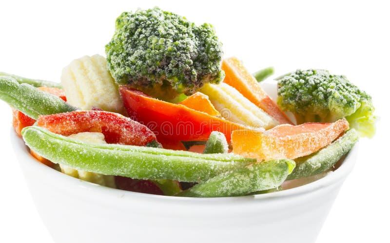 Zamarznięci warzywa. obraz stock