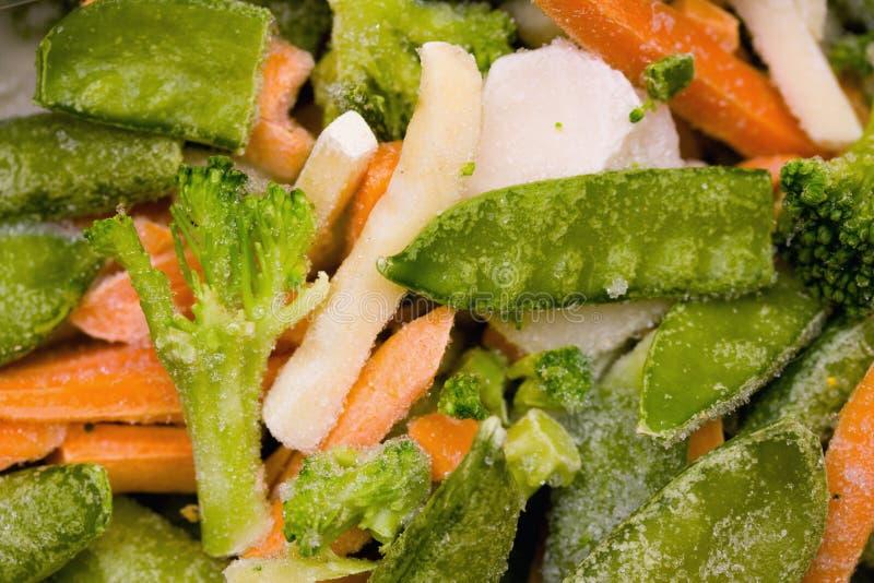 zamarznięci warzywa fotografia stock