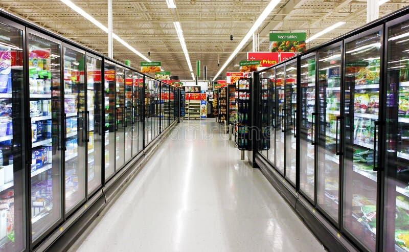 Zamarznięta foods nawa obrazy stock
