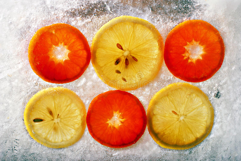 zamarznięta owoc zdjęcie royalty free