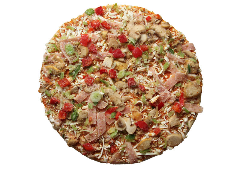 Zamarznięta pizza obrazy stock
