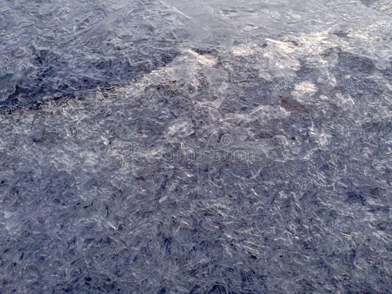 zamarznięty lód zdjęcia stock
