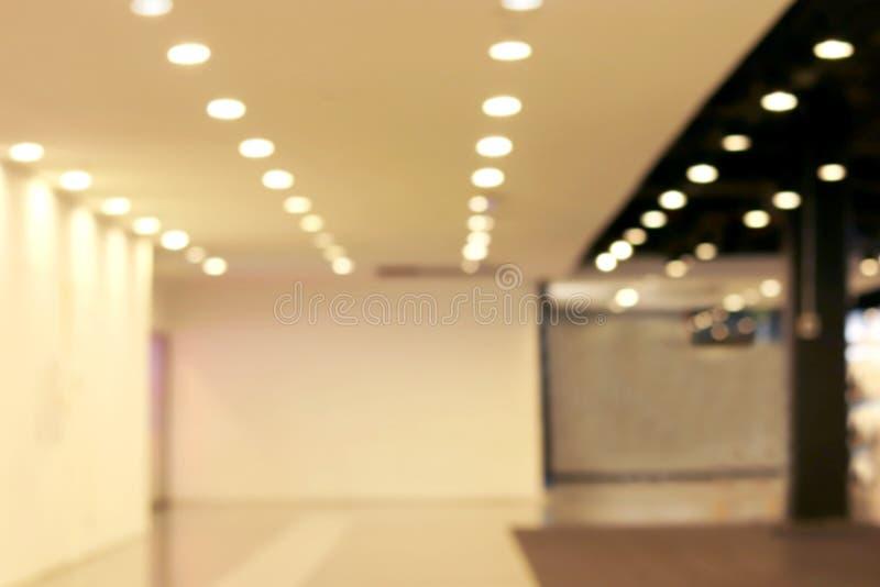 Zamazana pusta izbowa sala nowożytna, Pusty sala plamy pokój fotografia royalty free