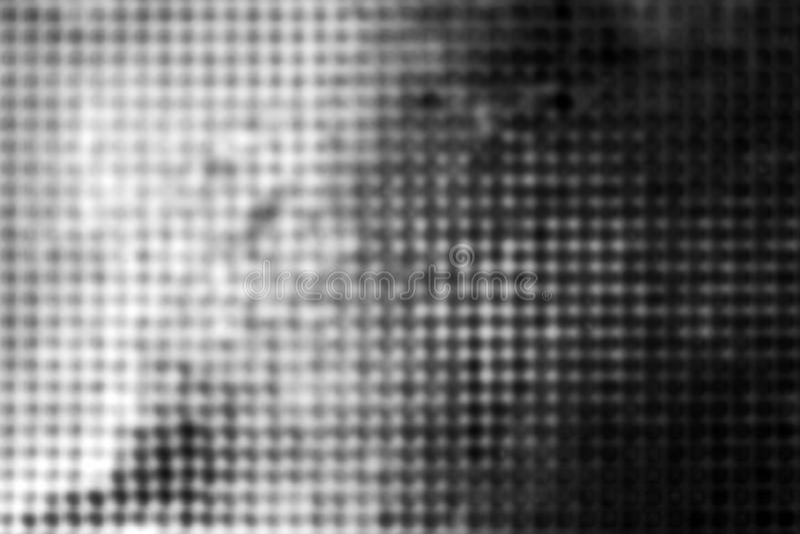Zamazana szara metal siatka jako abstrakcjonistyczny przemysłowy tło zdjęcia stock