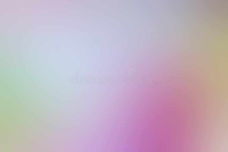 Zamazanego gradient menchii odcienia tła kolorowa pastelowa miękka ilustracja dla kosmetyka sztandaru reklamowego tła ilustracji