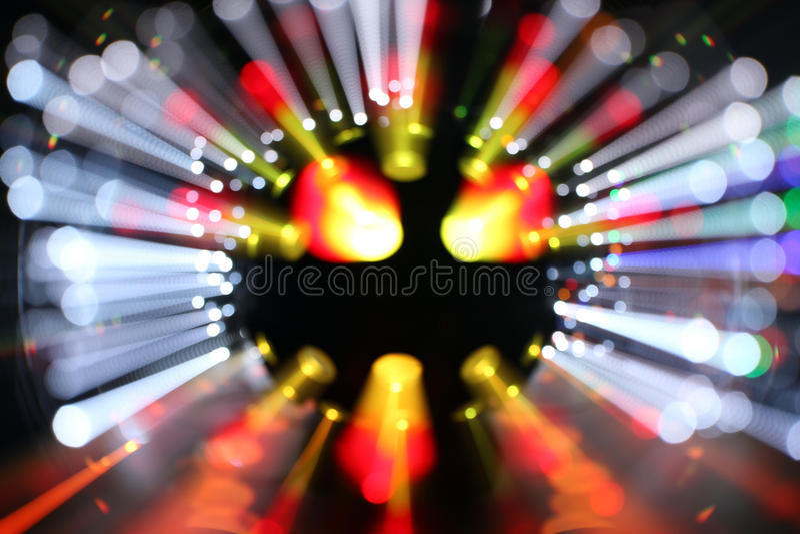 Zamazany laserowy discoball fotografia royalty free