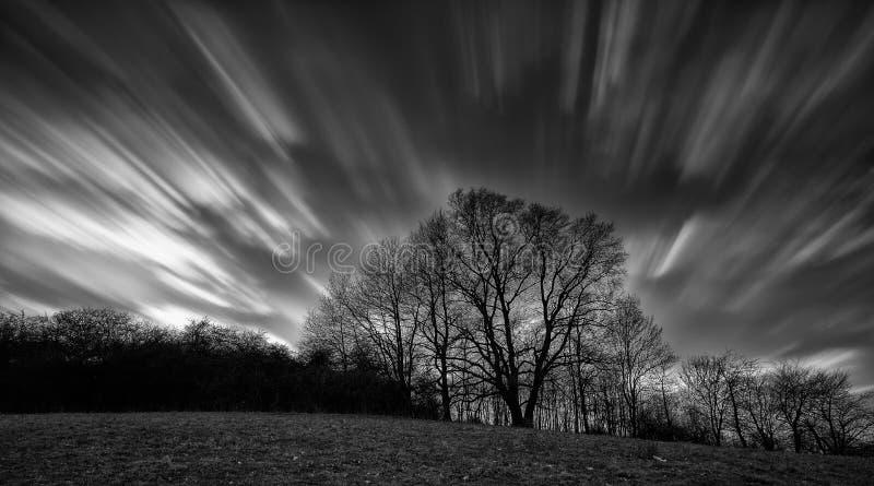 Zamazany niebo obrazy stock
