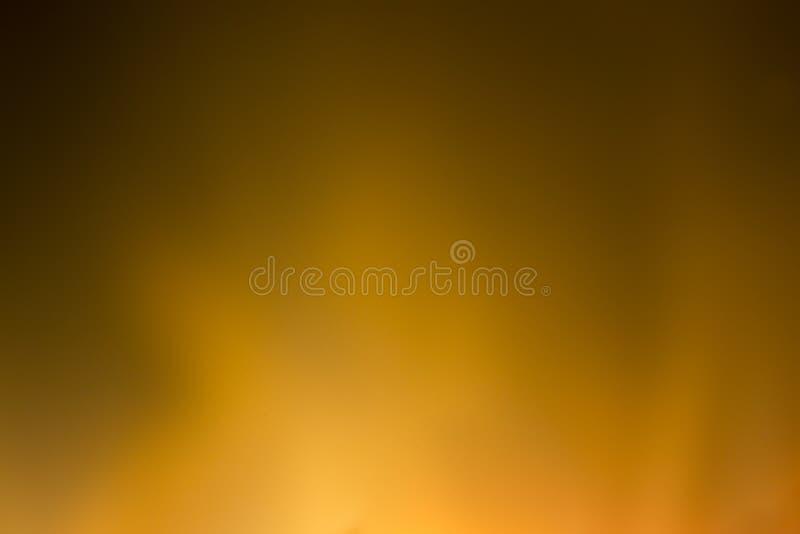 Zamazany tło z jaskrawymi pomarańczowymi światłami obrazy royalty free