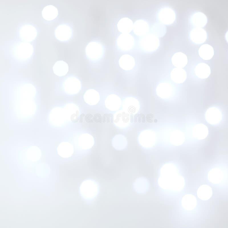 Zamazany Unfocussed światło białe bielu tło zdjęcia royalty free