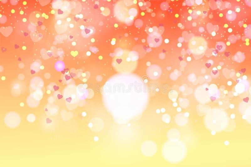 Download Zamazany Valentine ` S Dnia Tło Ilustracja Wektor - Ilustracja złożonej z dzień, błyskotliwość: 106906719