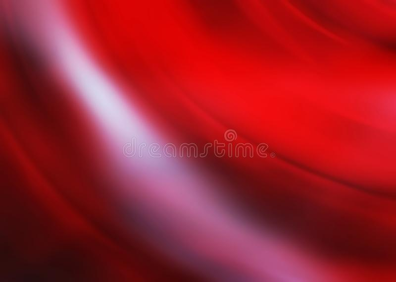 zamazujący abstrakcyjne tło Cyfrowego geometryczny styl Czerwony kolor ilustracja wektor