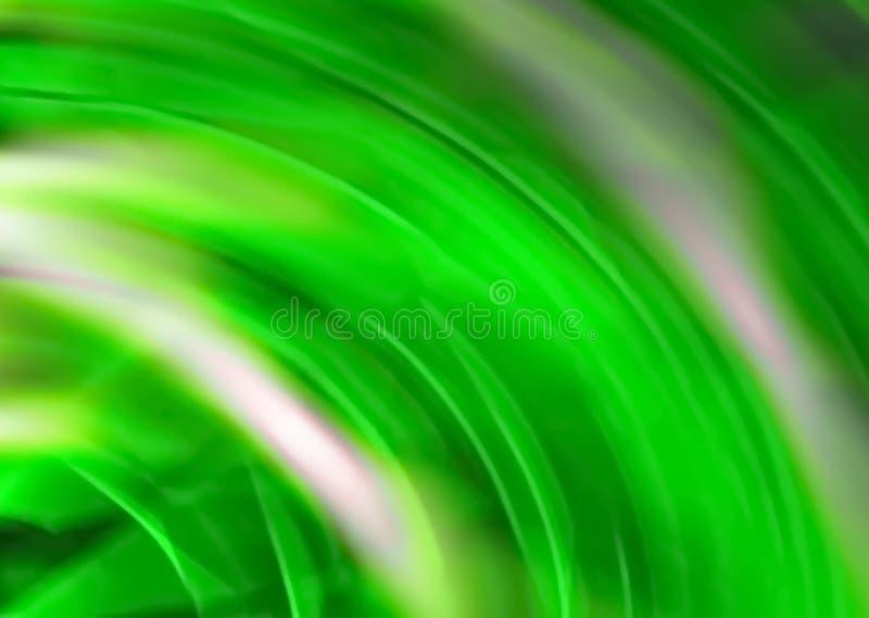 zamazujący abstrakcyjne tło Cyfrowego geometryczny styl Kolor zieleń ilustracji
