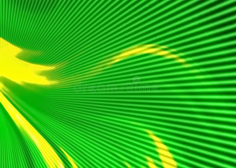 zamazujący abstrakcyjne tło kolor zieleń, kolor żółty Cyfrowego geometryczny styl ilustracji