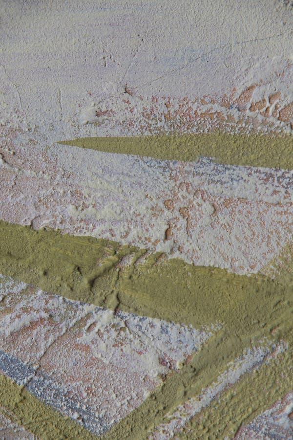 zamazuj?cy abstrakcyjne t?o Tekstura maluj?ca betonowa szorstka powierzchnia z p?kni?ciami i prostaccy uderzenia wapno barwimy obraz stock