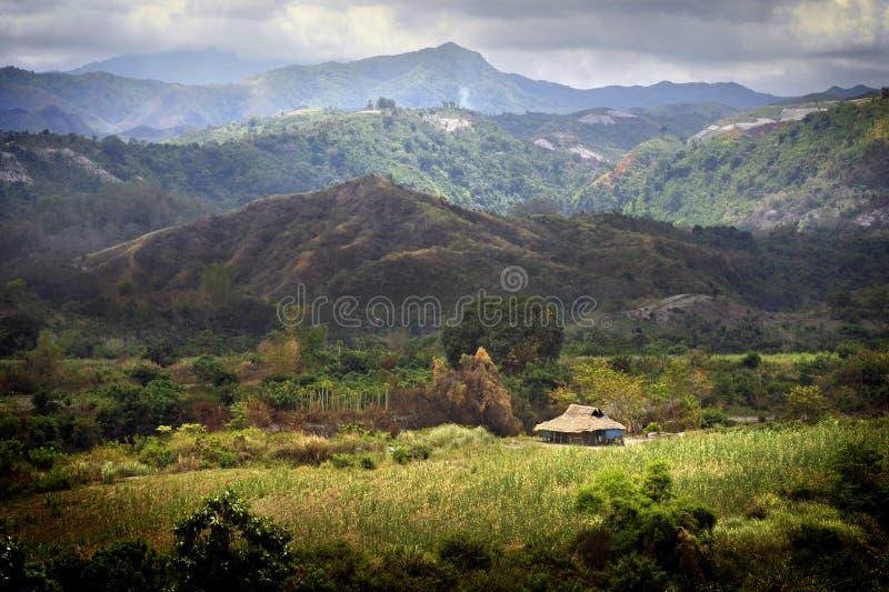 Zambales Berge stockbilder